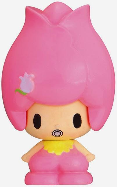 Koedachan KFG-03 Bé Churi đổi nét mặt trông như một bông hoa tuy-lip màu hồng