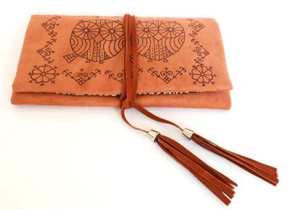 Inspiração Coruja - bolsa de mão