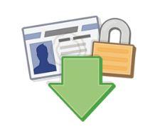 how to download facebook information in desktop hard drive