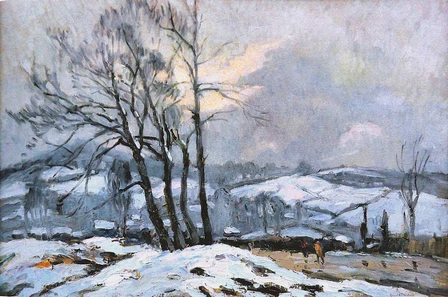 Robert Antoine Pinchon - Le Chemin des Bulins