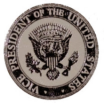 A representation of the seal of the Vice-President of the United States of America