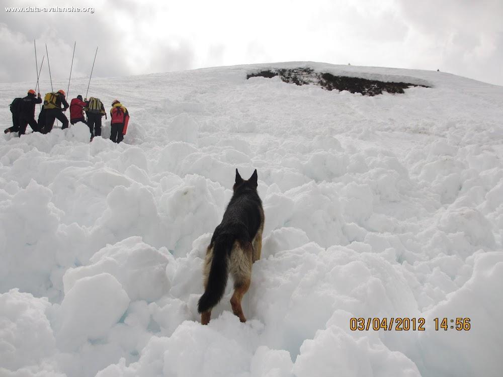 Avalanche Beaufortain, secteur Ban Rouge, Praz sur Arly - Photo 1