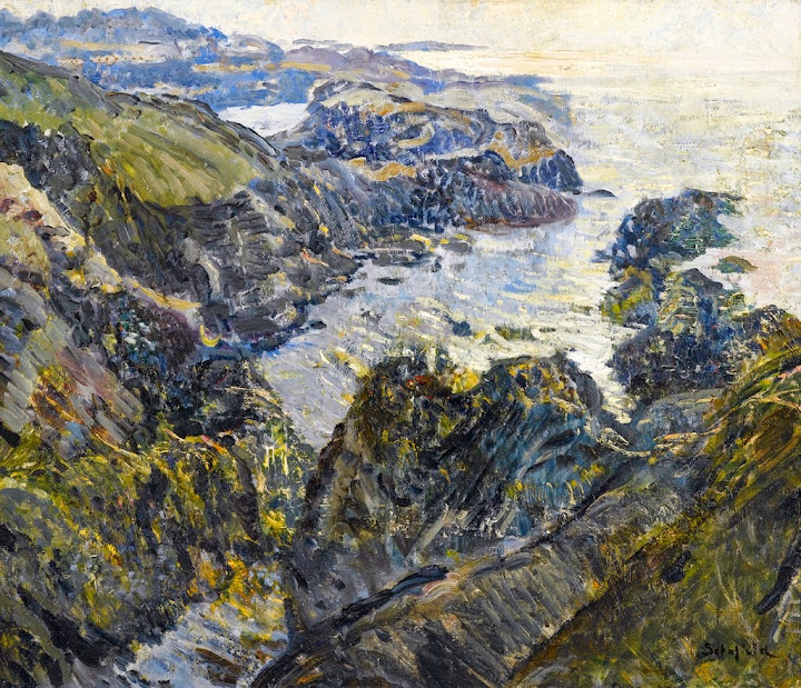 Walter Elmer Schofield - The Coast of Cornwall