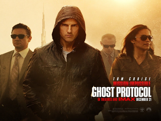 Mission Impossible 4 Ghost Protocol movie poster