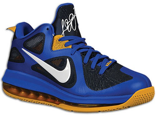 Nike LeBron 9 Low WBF Game Royal 8211 Sample Version