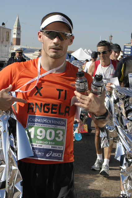 I am Finisher in Venice Marathon 2009
