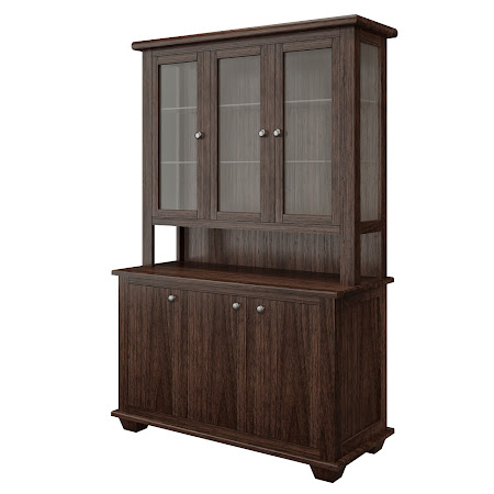 Monrovia China Cabinet in Stormy Walnut