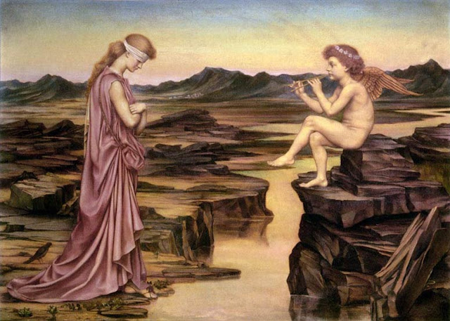 Evelyn De Morgan - Love the Misleader