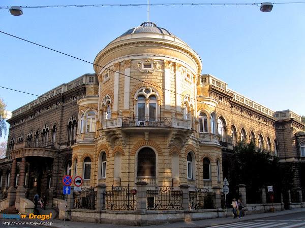centrum Łodzi - pałac Poznańskiego