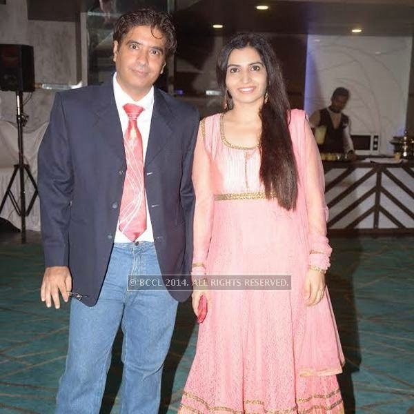 Ritesh & Neetu Arora at the New Board of Rotary Ishanya introduction at hotel Centre Point in Nagpur.