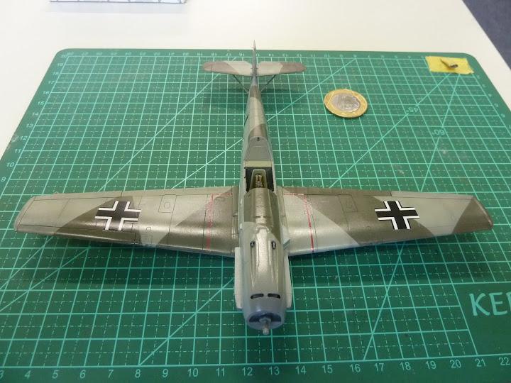 Bf-109 E-3 Tamiya 1/48 - Reforma pintura P1020497
