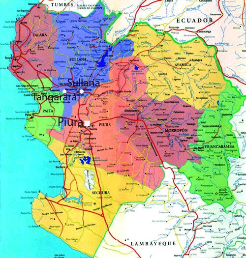 Mapa Tangarará