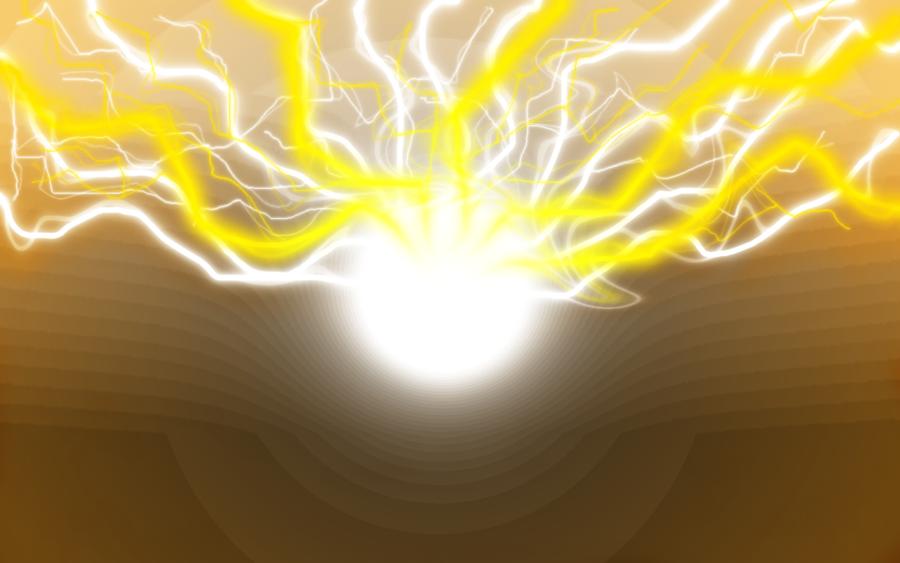 yellow lightning wallpaper - photo #28