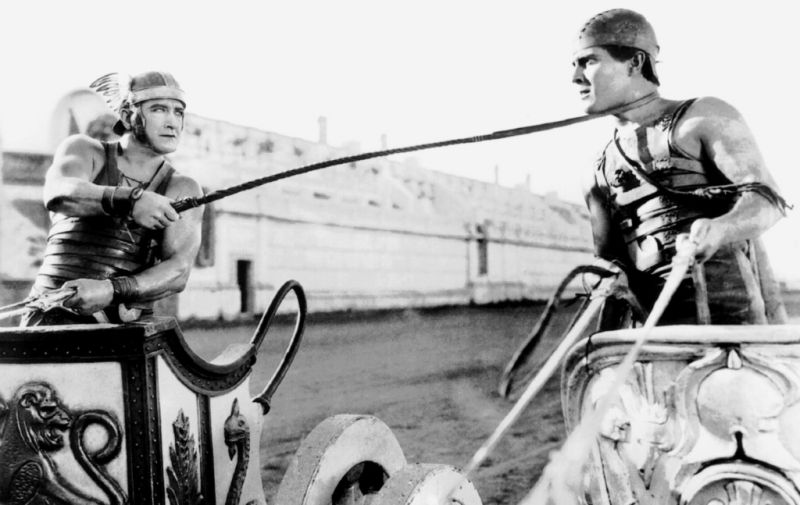 Ramon Novarro, Francis X. Bushman, Ben Hur, 1925