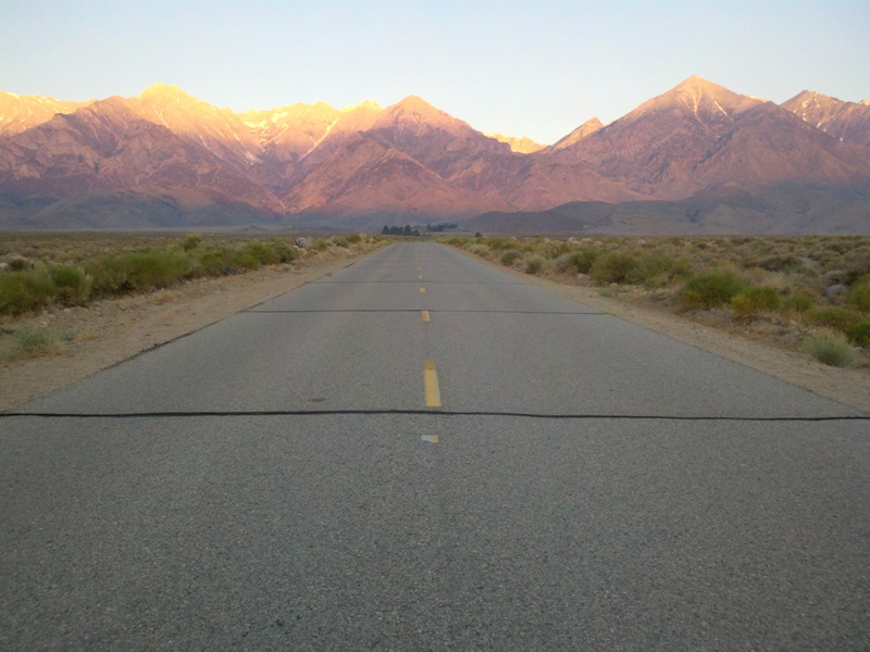 Eastern Sierra • Onion Valley Road