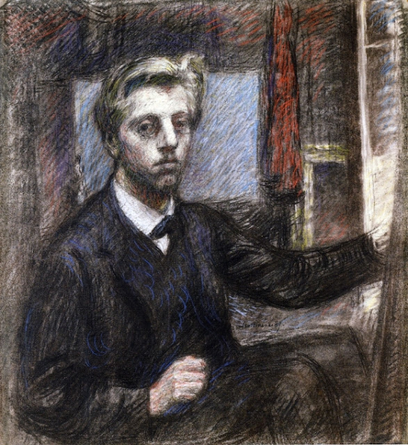 Georges Lemmen - Self Portrait