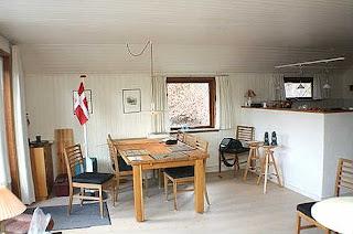 Spisekrog i vores sommerhus i Øster Hurup