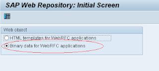 SAP Web repository SMW0