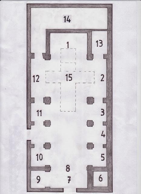 Plano iglesia San José