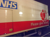 Blood transfusion service lorry