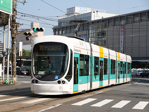 広島電鉄 5107形「グリーンムーバーmax」
