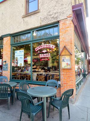 Collegetown Bagels, in Ithaca