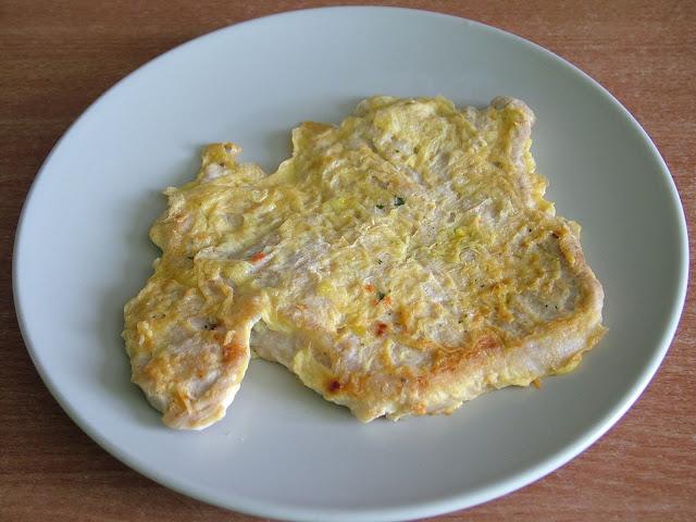 Schabowy w jajku