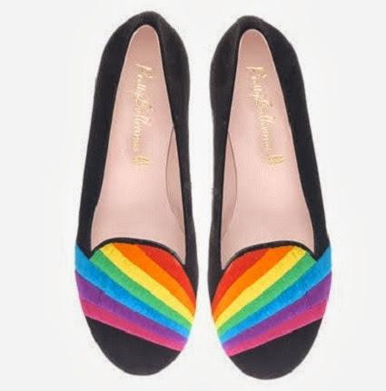 inspiração: arco-íris - sapatilha colorida arco-íris