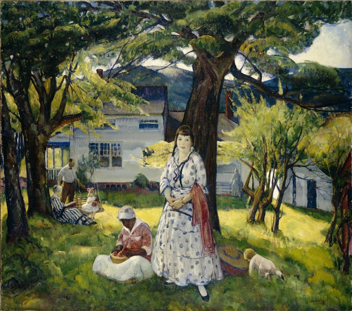 Leon Kroll - In the Country (1916)