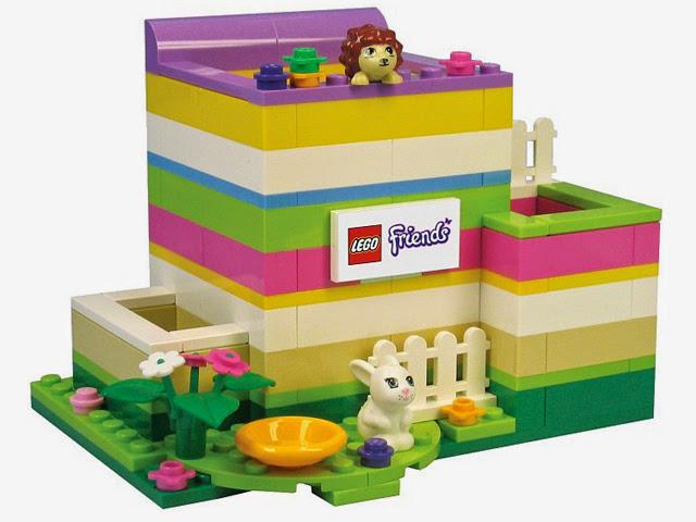 40080 レゴ フレンズ ペンシルホルダー