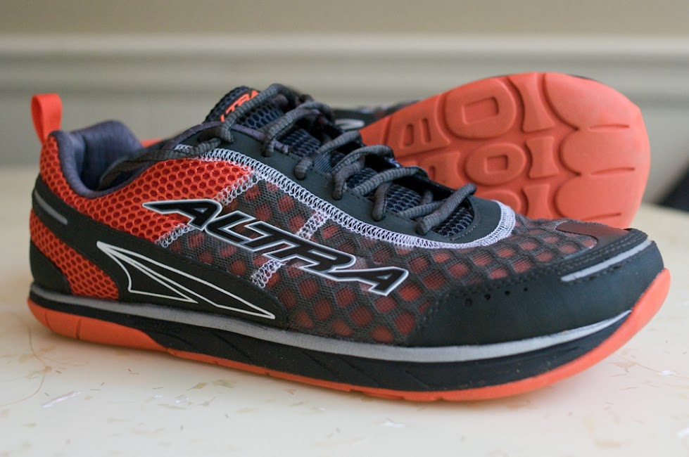 Altra Instinct 1.5 profile and outsole