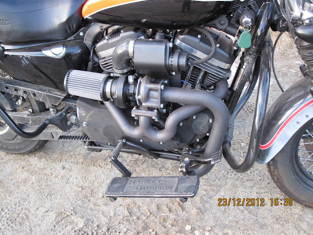 Review: Hellcat Custom Design Turbo Buy - The Sportster and Buell