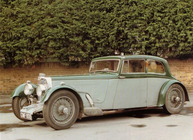 Aston Martin Mark II Sports Saloon, 1934 г.