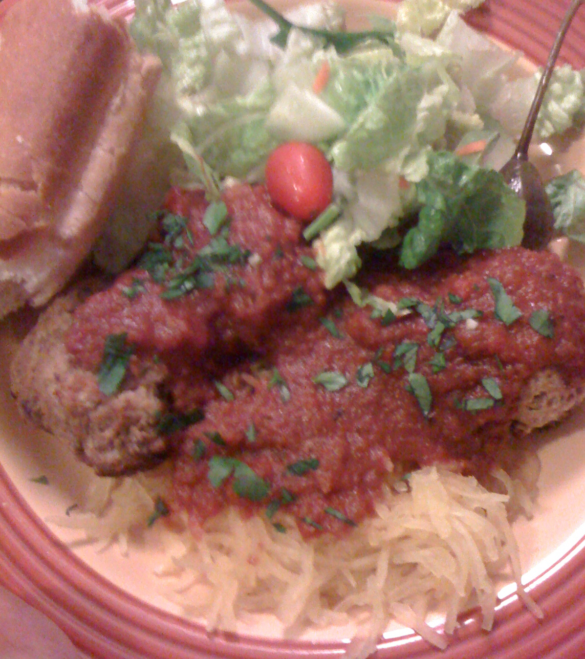 Food and Fitness: Veal Meatballs with Carmelized Onion Red ...