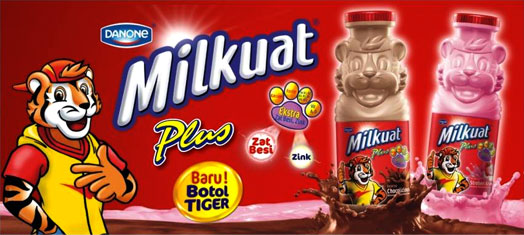 Milkuat Botol Tiger