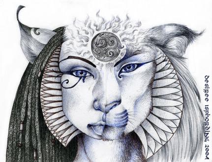 Charge Of Goddess Sekhmet Image