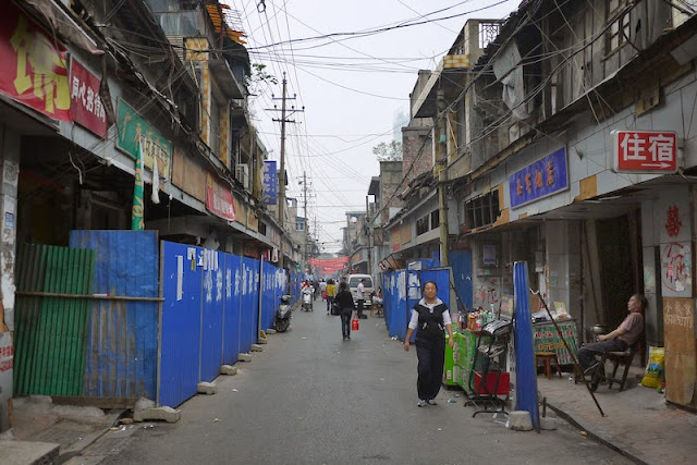 Beizheng Street in Changsha, China
