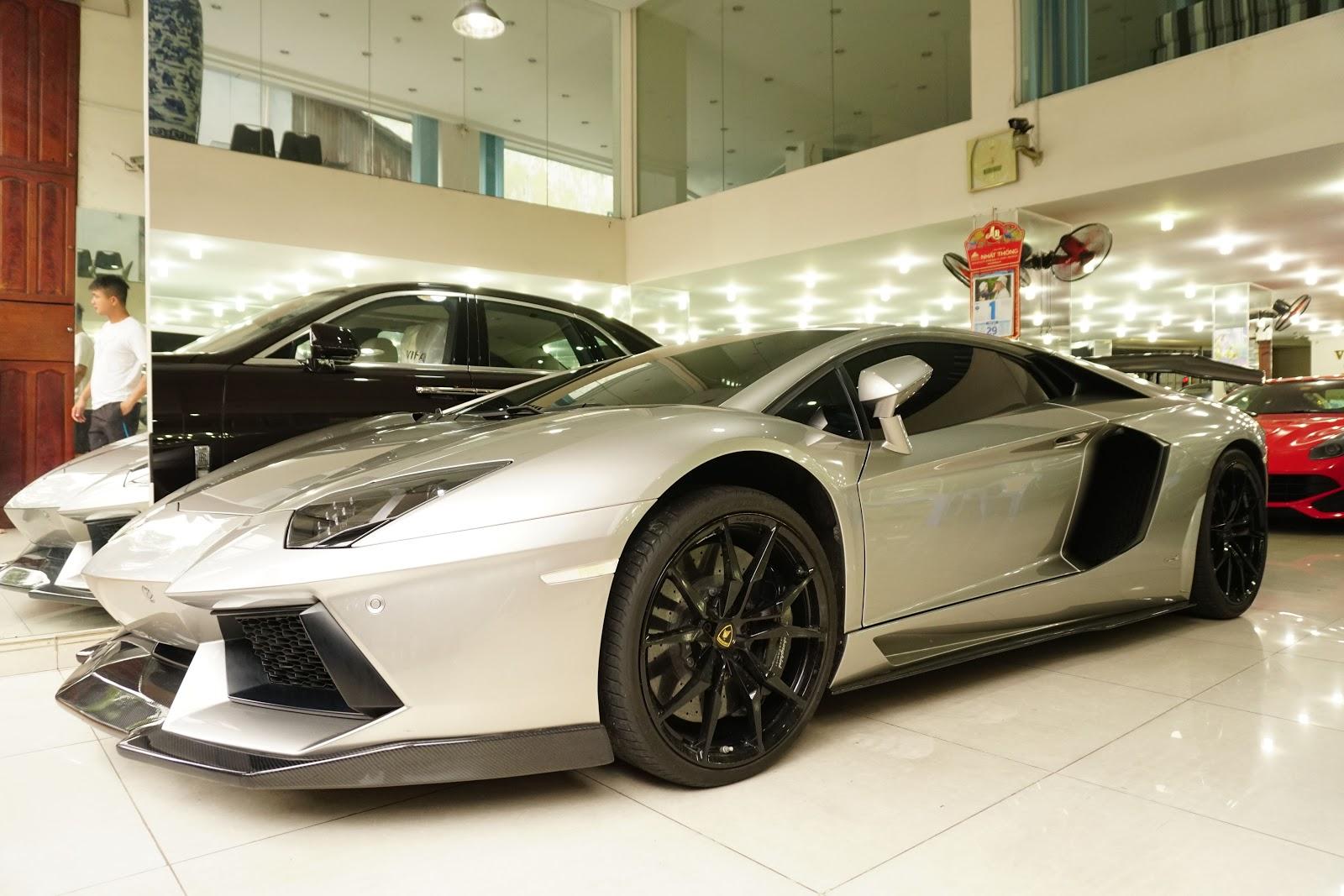 Lamborghini Aventador độ DMC xứng đáng với danh hiện Mũi tên bạc II đệ nhị