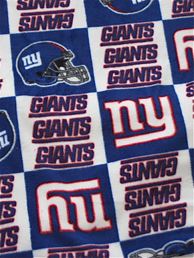 New York Giants Cloth Diaper