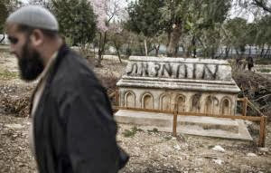 Israeli Christians protest cemetery desecrations
