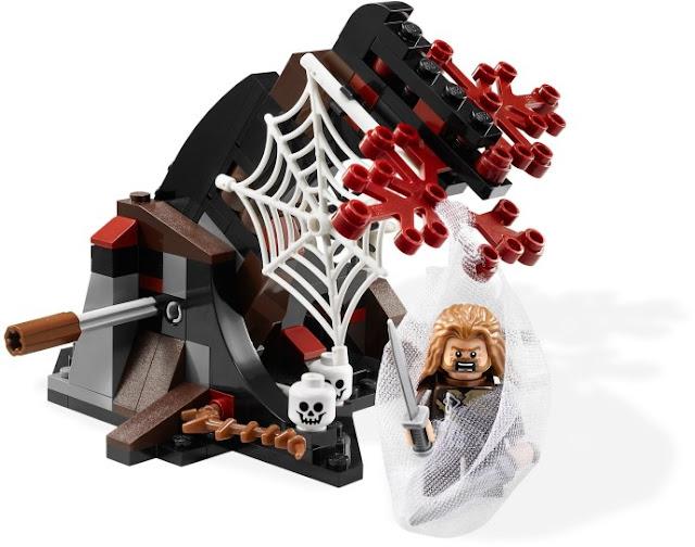 レゴ ホビット 闇の森の巨大クモ 79001