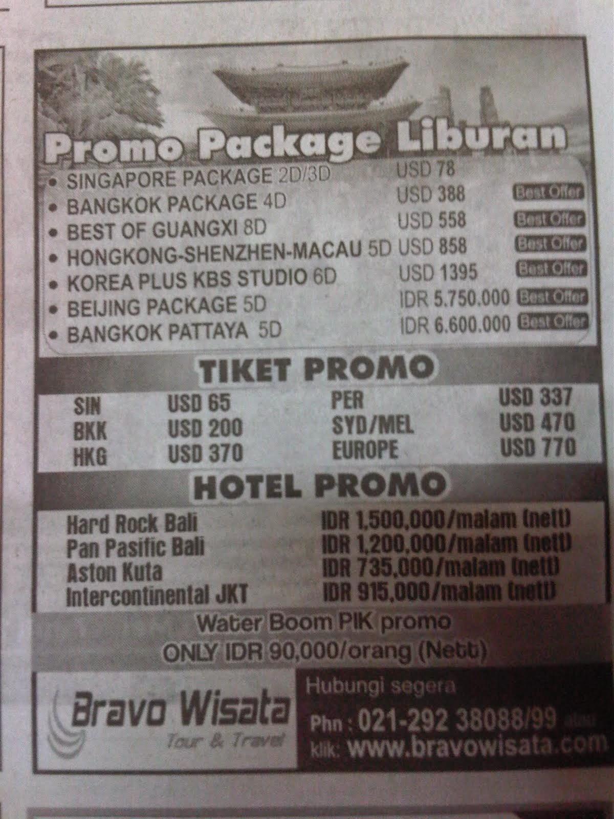 paket liburan murah ke bali termasuk tiket pesawat