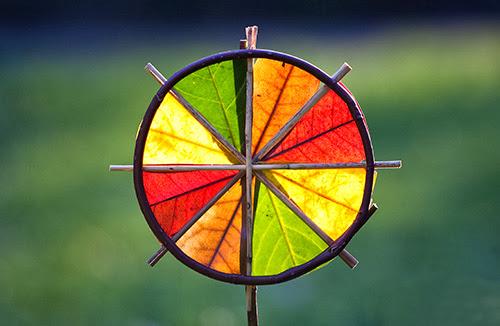 4 Colour Sunwheel (Richard Schilling Land Art
