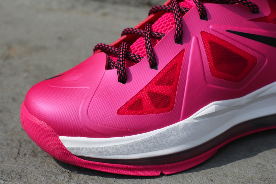 buy online 3c5fe 0d042 ... First Look at Fireberry Nike LeBron X in Grade School Sizes