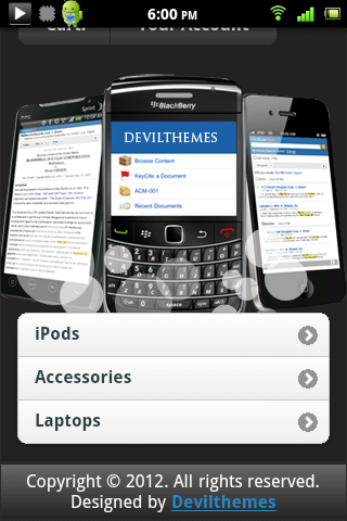 Prestashop for Mobile