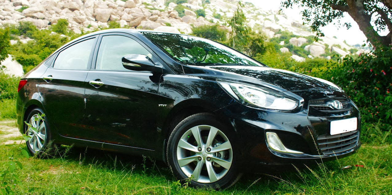 Hyundai Fluidic Verna SX O VTVT Black 7 Months 7000 Kms Ownership Review
