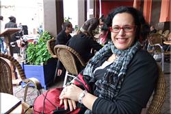 Café de France en la plaza Jemaa El Fna