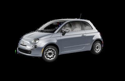 2013 Fiat 500 in Luci Blu