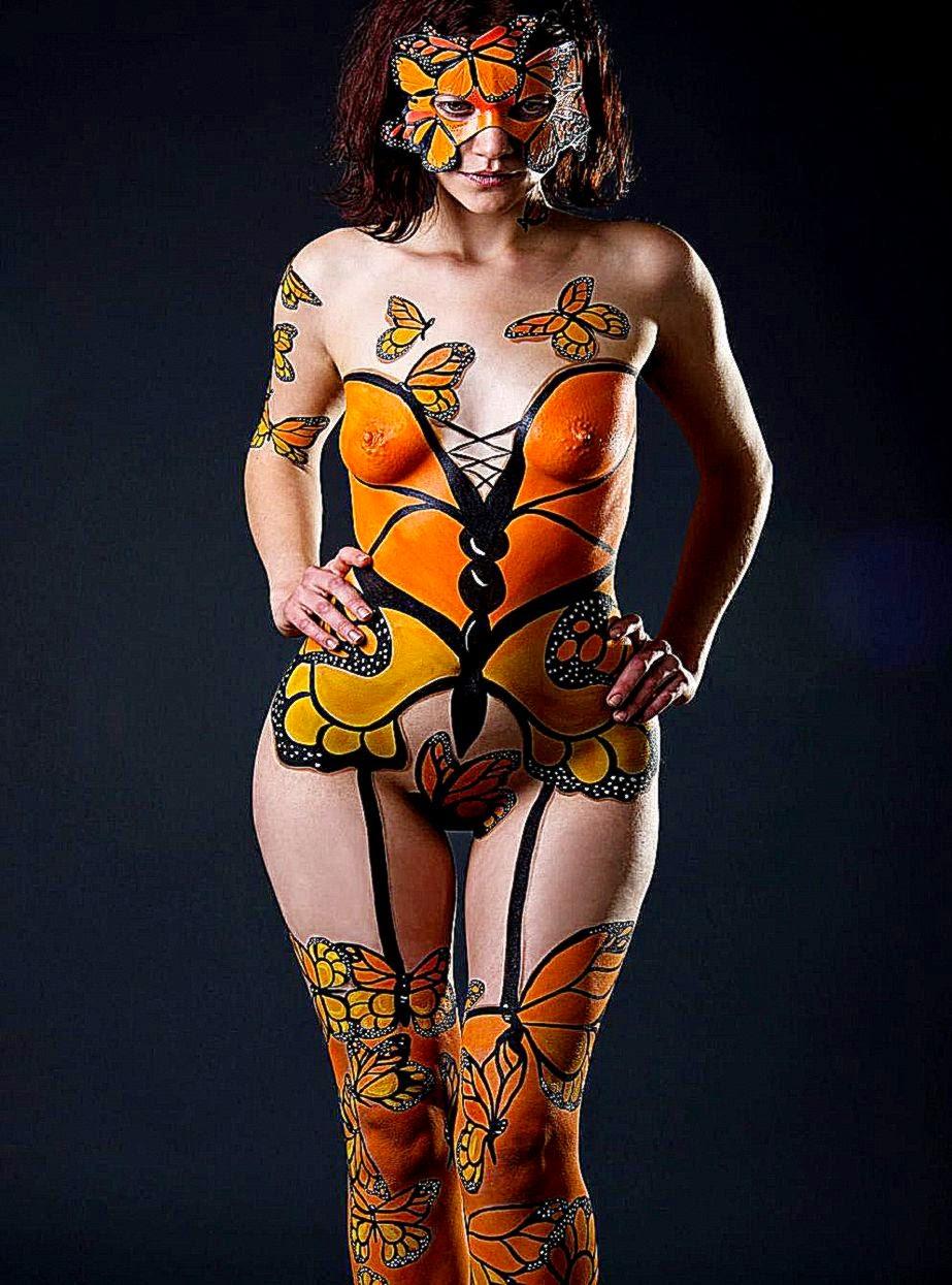 FANTASY BODY PAINTING  bodypaint  I Love Body Art