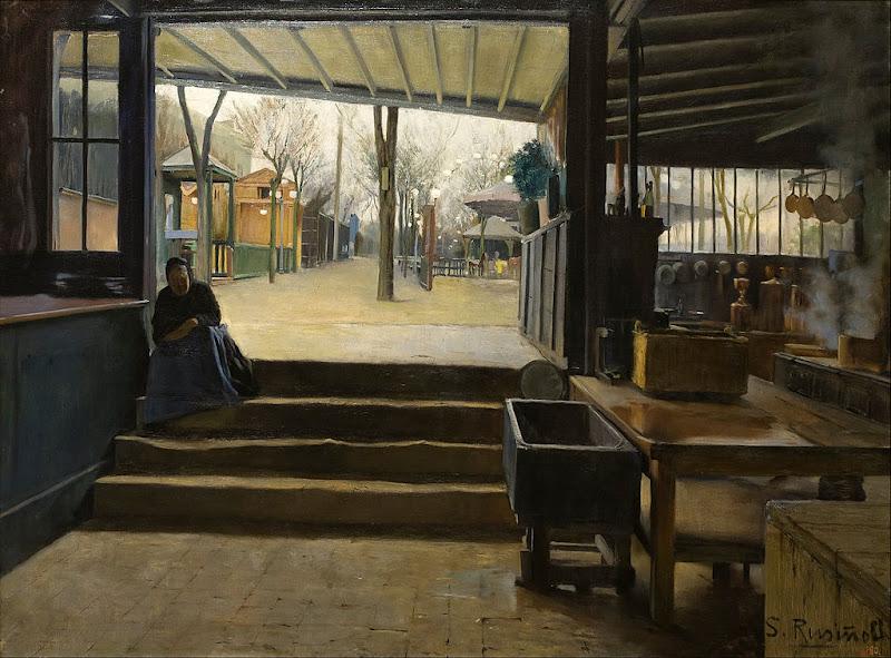 Santiago Rusiñol - Laboratory of La Galette
